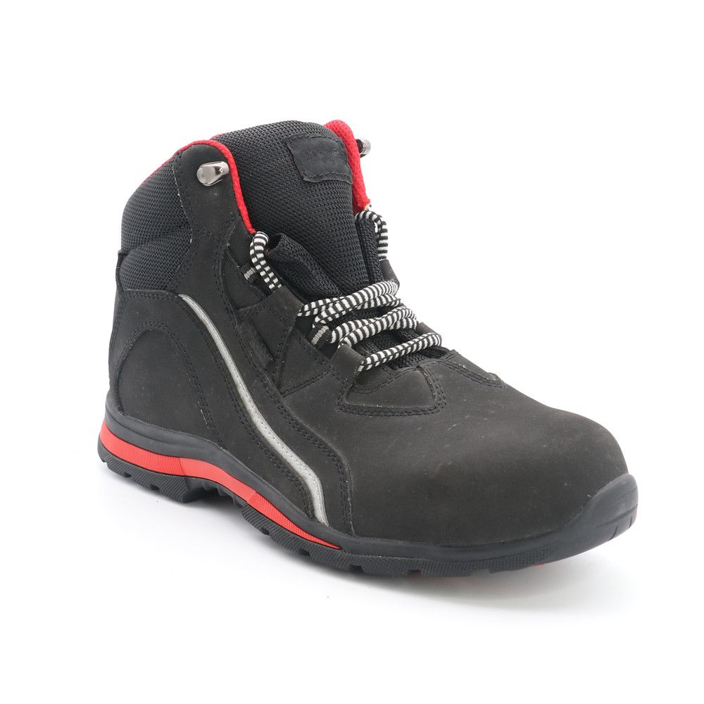 GENUINE LEATHER SAFETY BOOT RC6829