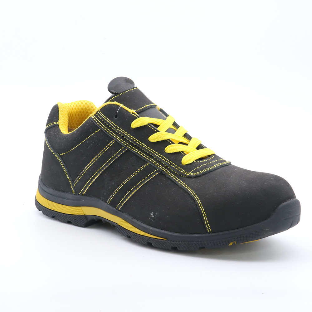 GENUINE LEATHER UPPER SAFETY SHOE RC4824