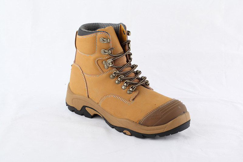 MEN'S GENUINE LEATHER SPORTY SAFETY BOOTS STYLE NO.RB88277
