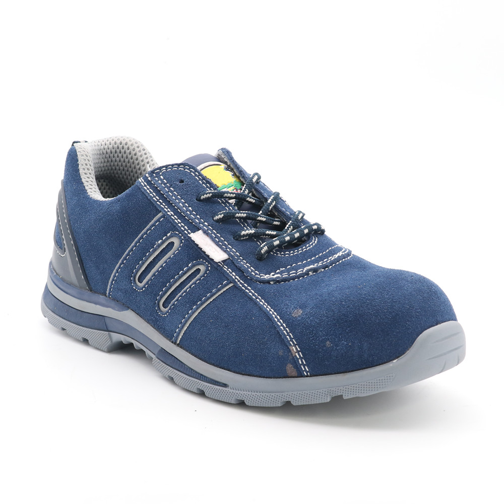MEN'S AND WOMEN'S GUNUINE LEATHER SAFETY SHOE RC4822