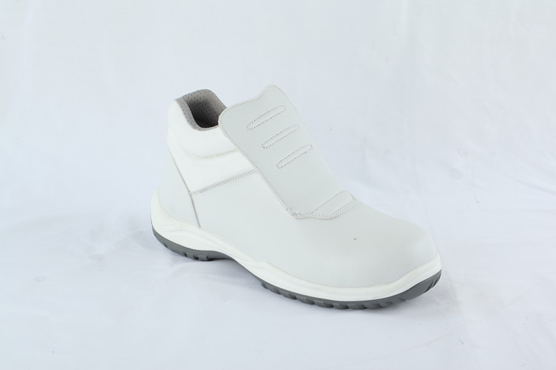White shoes with steel toe S2/O2 STYLE NO.RW68216